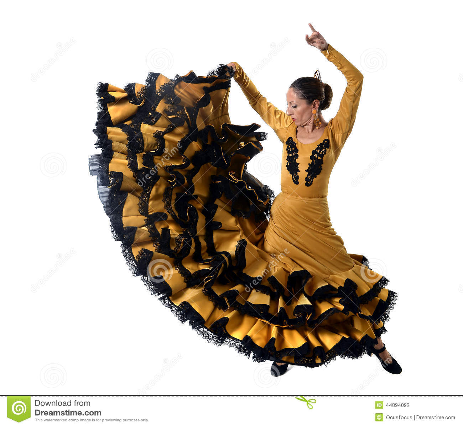 Robe femme flamenco