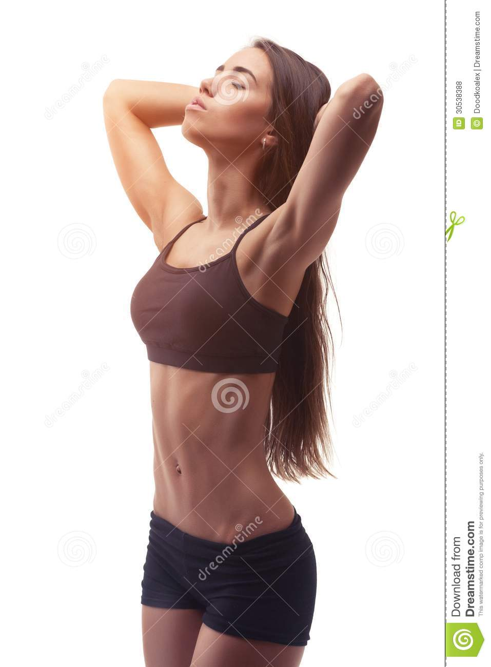 young sport woman with perfect fitness body royalty free stock photos image 30538388. Black Bedroom Furniture Sets. Home Design Ideas
