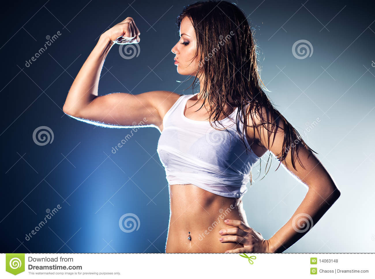 how to become physically strong woman