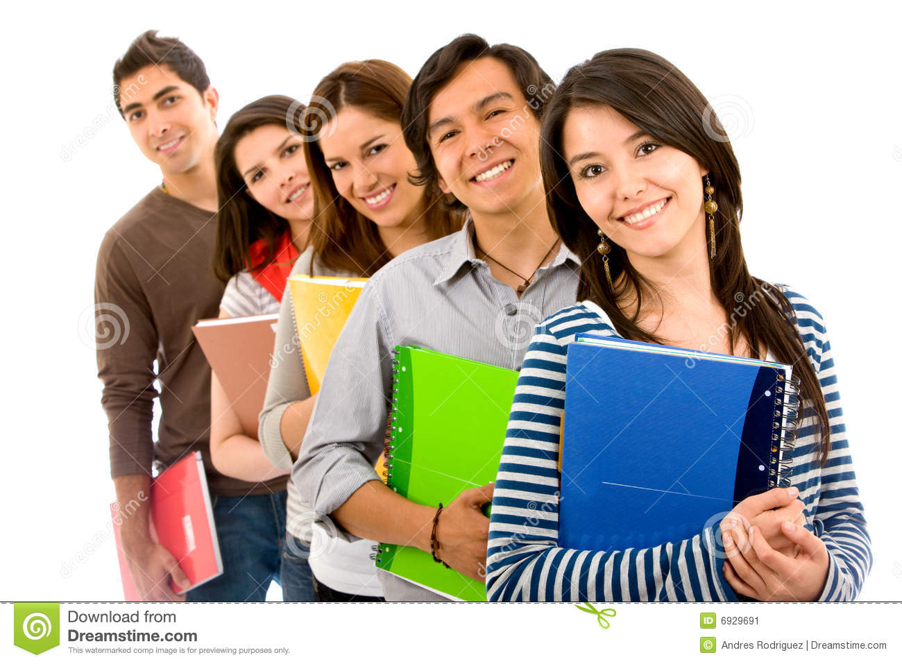 Students Clip Art College student clipart.