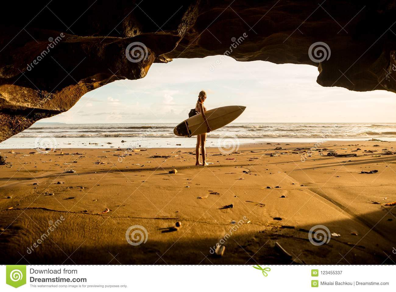Surfing All Day Long Stock Image Image Of Adventure
