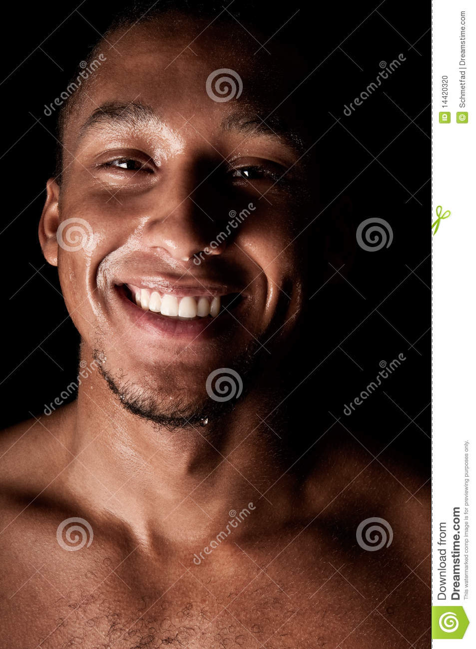 0a21f73754d7 Young sweaty male stock photo. Image of attractive