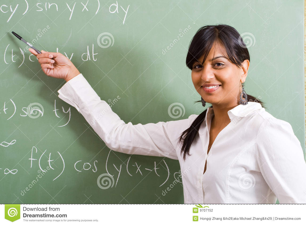 Young Teacher Stock Photography Image 9707152