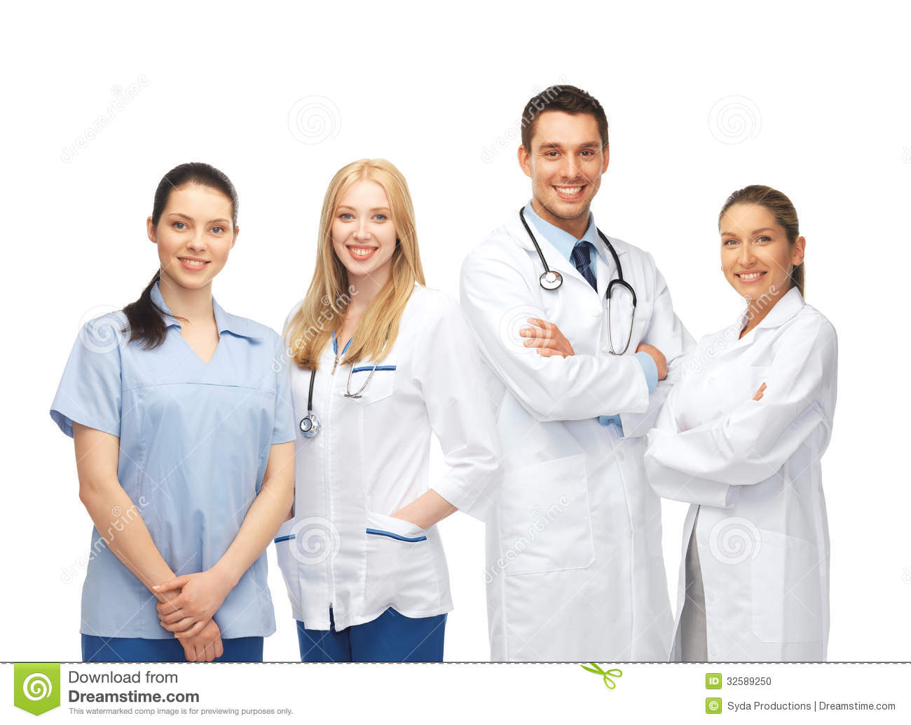 Young Team Or Group Of Doctors Stock Photo Image 32589250