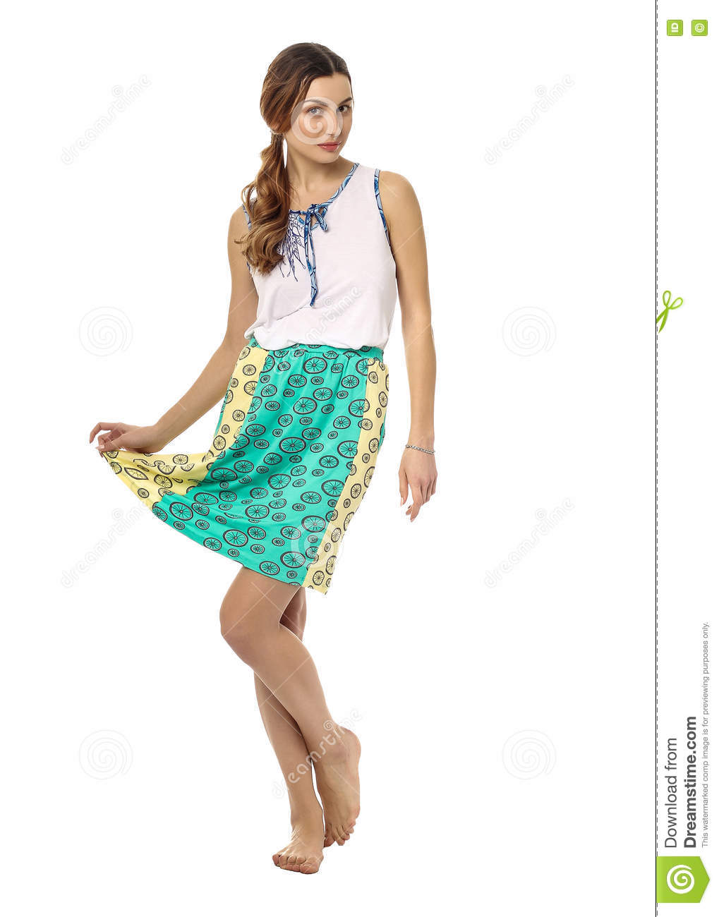 31487df3d3c Young Teen In Dress And High Heels Stock Image - Image of lovely ...