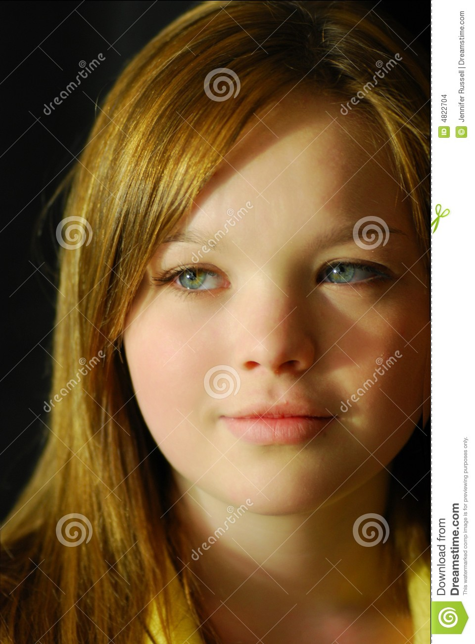 Young teen portrait stock photo image of attractive eyes 4822704 - Fresh teen girls ...