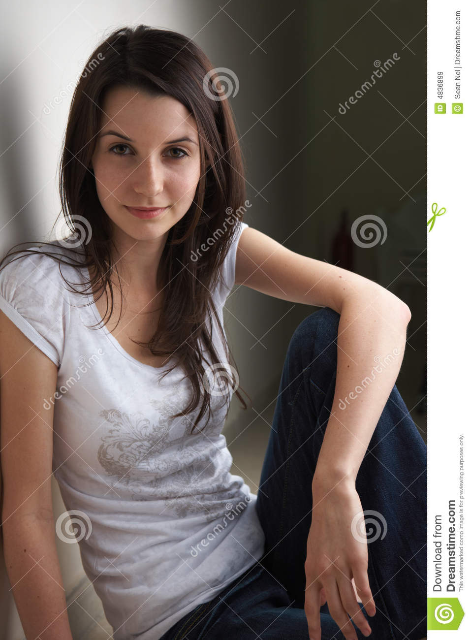 Young Teenage Girl Royalty Free Stock Images Image 4836899