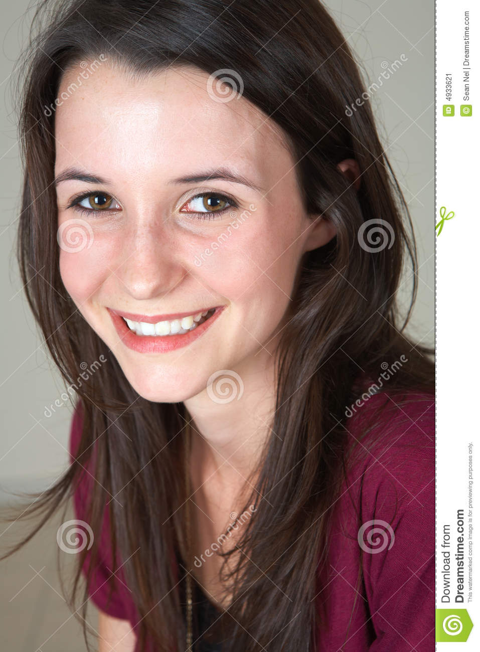 Young Girl Models Nn: Young Teenage Girl Stock Image. Image Of Attractive