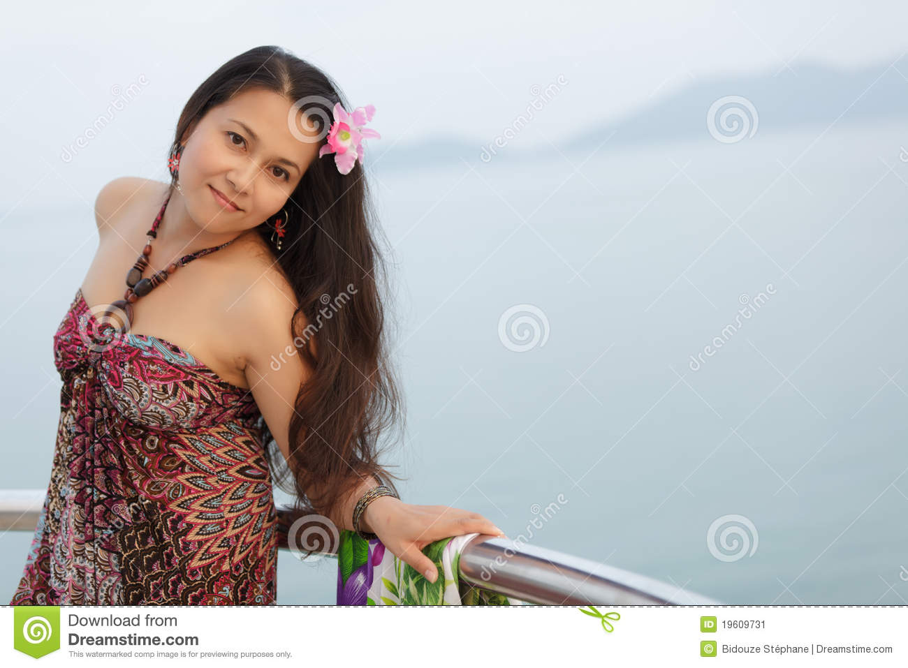 Young Thai Woman Stock Image 19609731