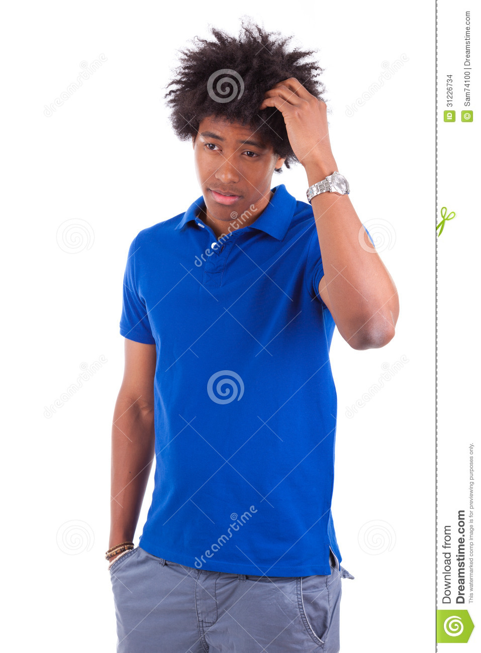 young black teenager