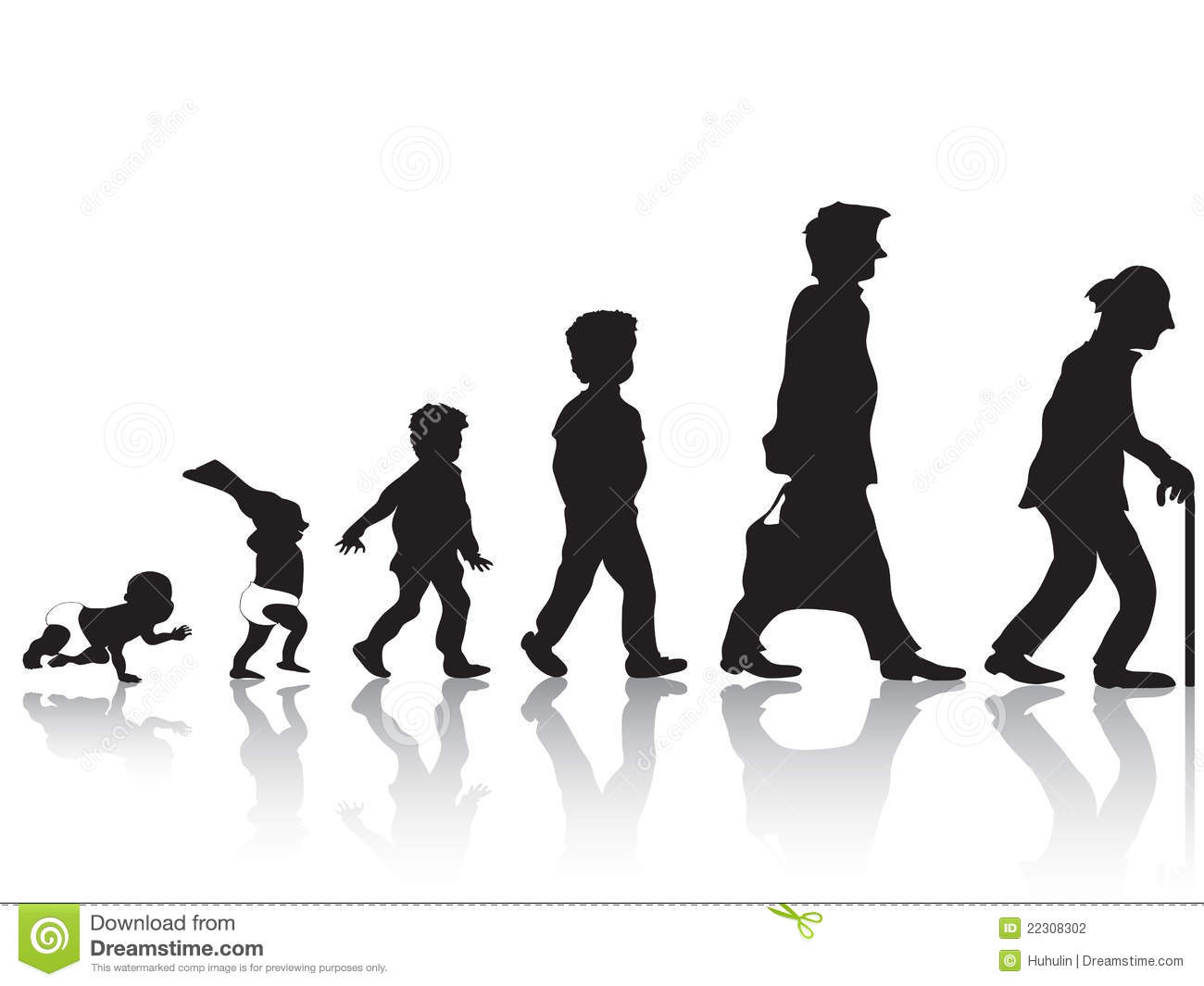 From Young To Old Stock Photography - Image: 22308302