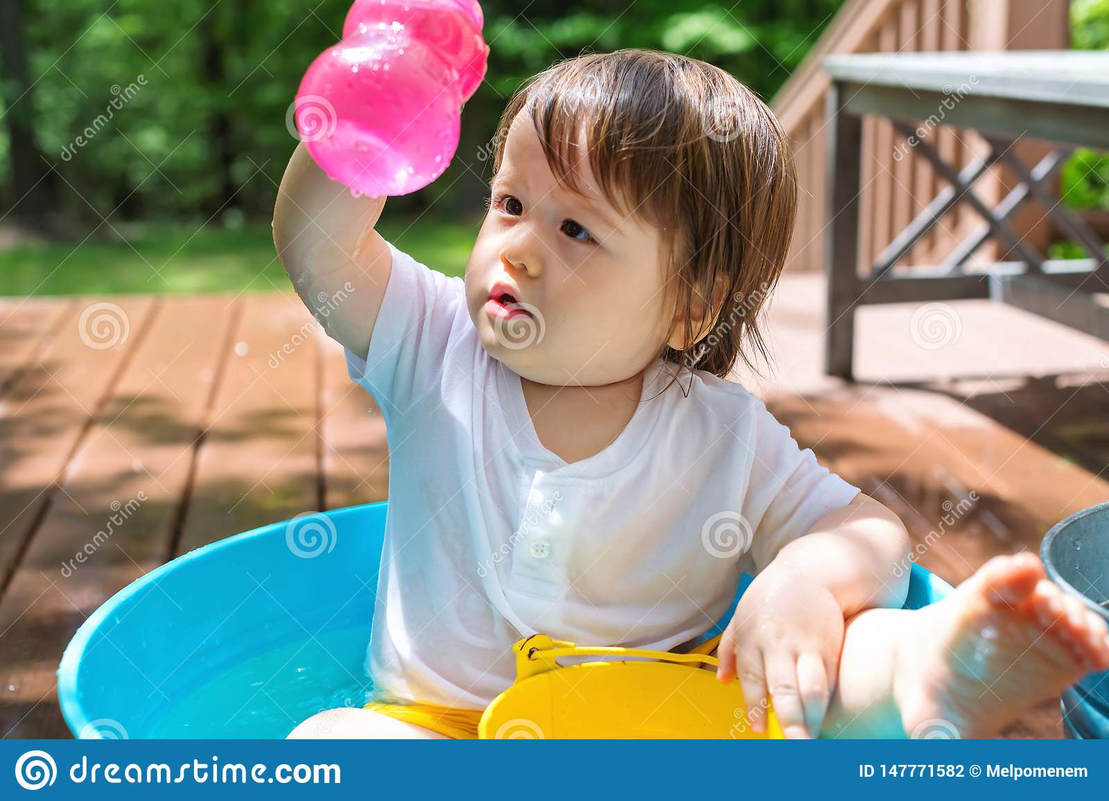 Child Water Sky Ocean Blue - a Royalty Free Stock Photo