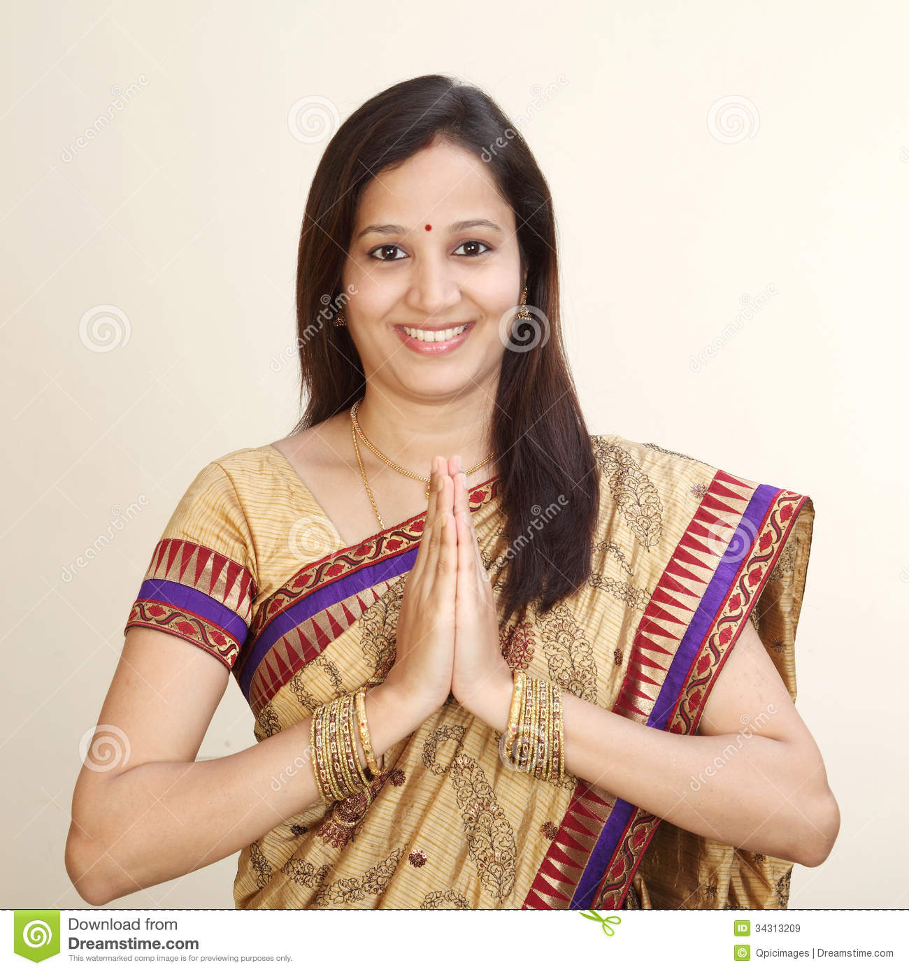 Design House Plans Online India Young Traditional Indian Woman Royalty Free Stock Images