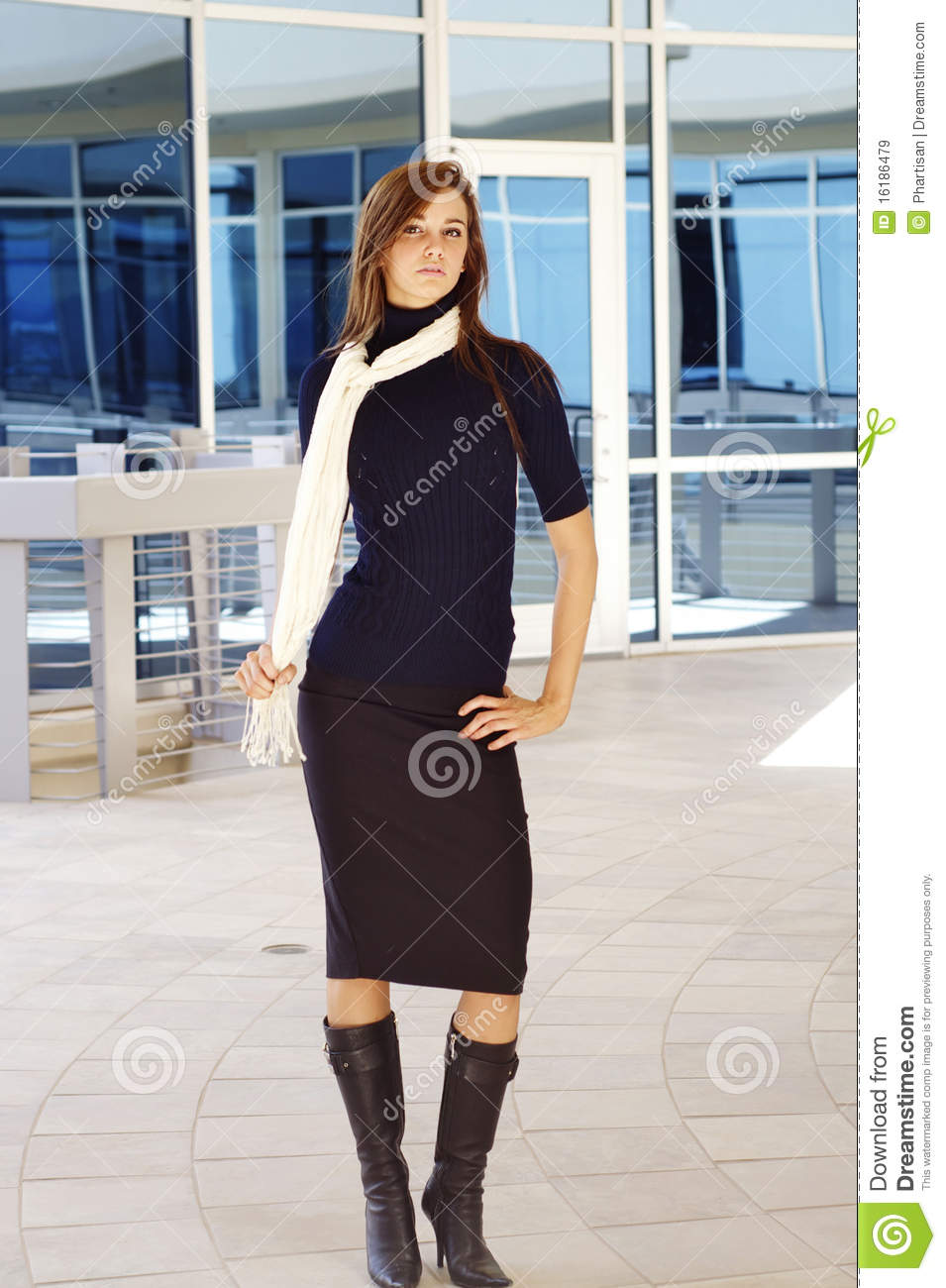 Young Well Dressed Woman Royalty Free Stock Images Image 16186479