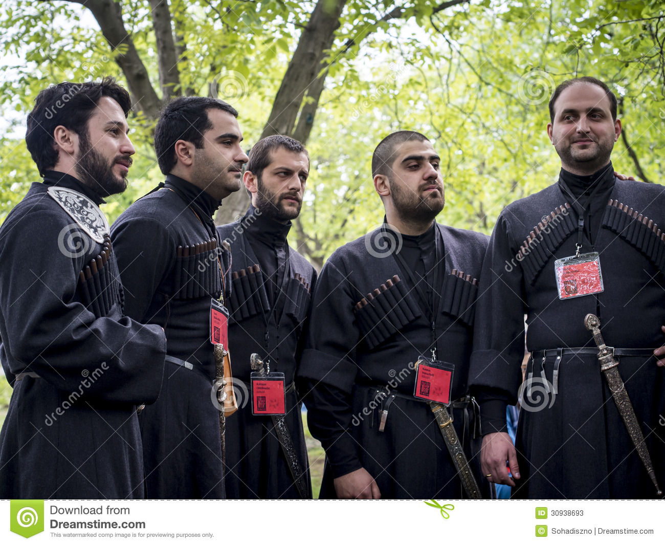 Georgia Georgian Police Stock Photos Georgia Georgian: Young Wine Festival In Tbilisi Editorial Stock Photo