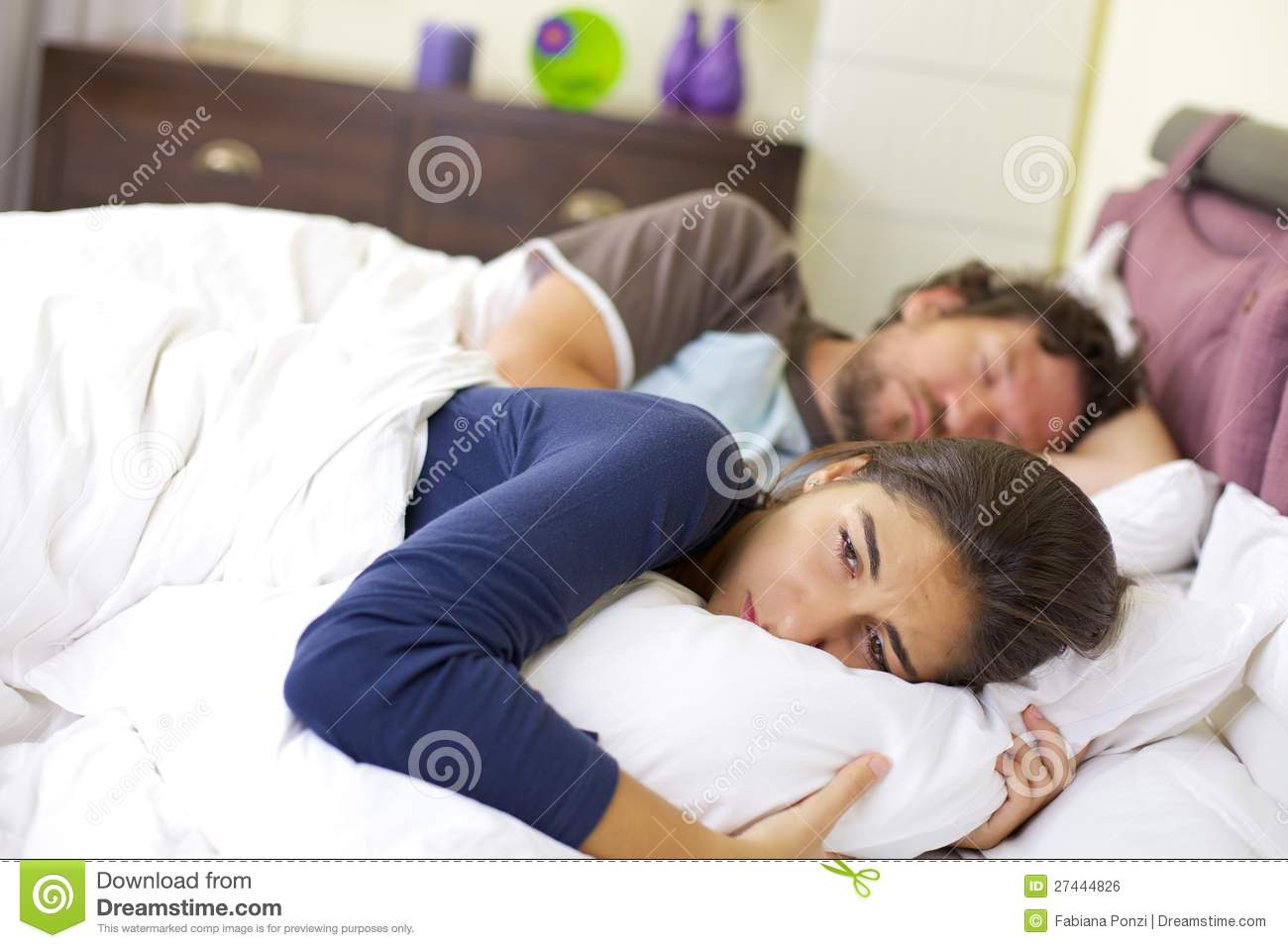woman crying in bed young woman crying in bed desperate royalty free stock 1699
