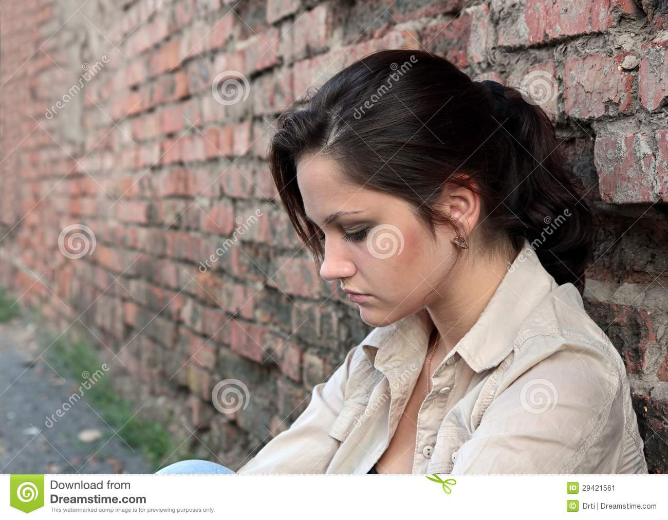Young Woman In Despair Stock Image - Image: 29421561