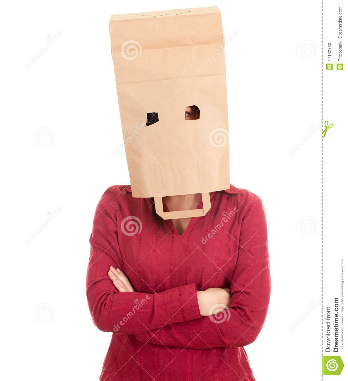 Women With Bag On Head With Perfect Creativity In Spain