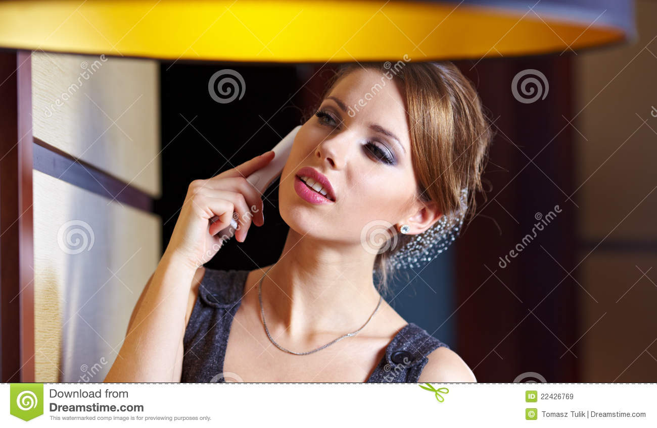 royalty free stock images flirting phone image