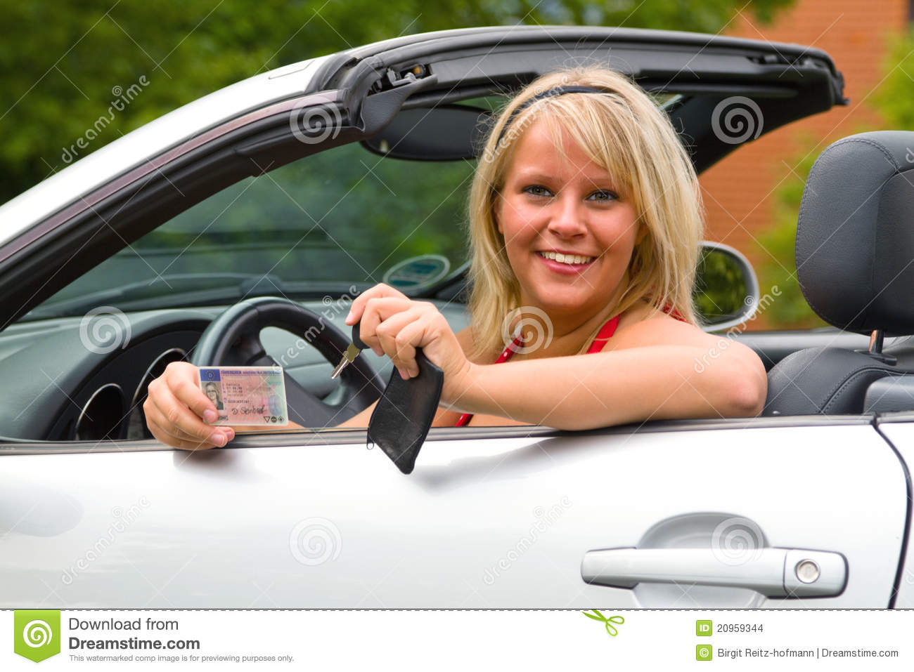 Valuable drivers license and woman nude you mean?