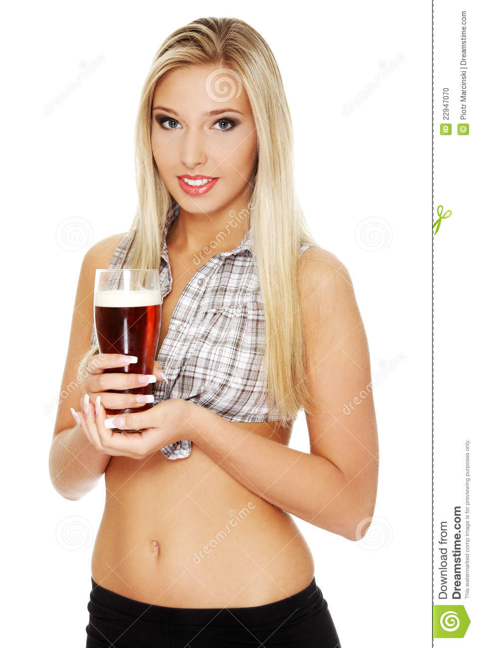 Blonde girl drinks a bowle of cum bukakke 8