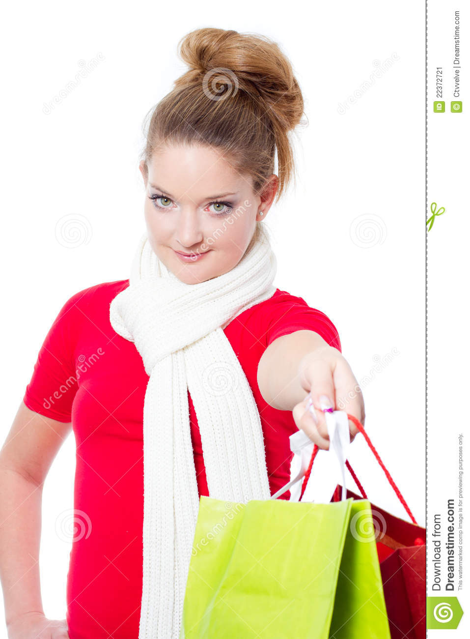 Elegant Woman Holding Many Colorful Bags Shopping Fashion Image Stock Photo U0026 More Pictures Of Addiction ...