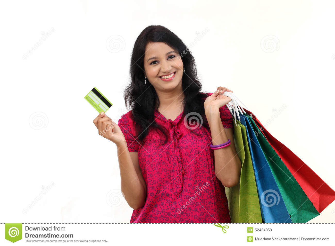 Beautiful Womanu0026#39;s Hand Holding Shopping Bags Royalty Free Stock Photo - Image 33418195