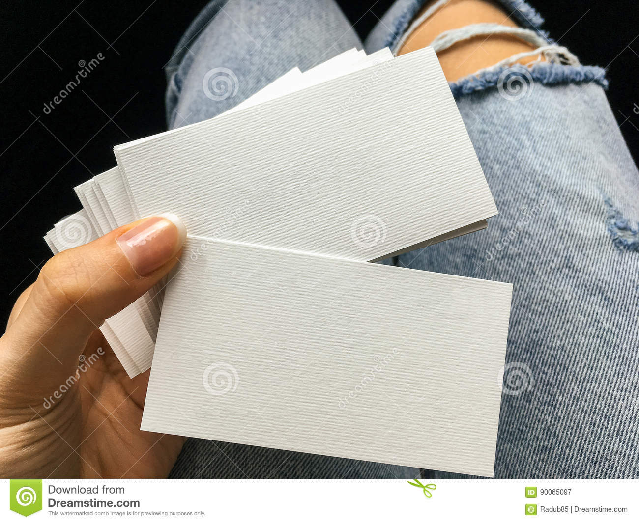 Blank business cards sheets choice image card design and card template blank business cards sheets choice image card design and card template young woman holding white blank reheart Images