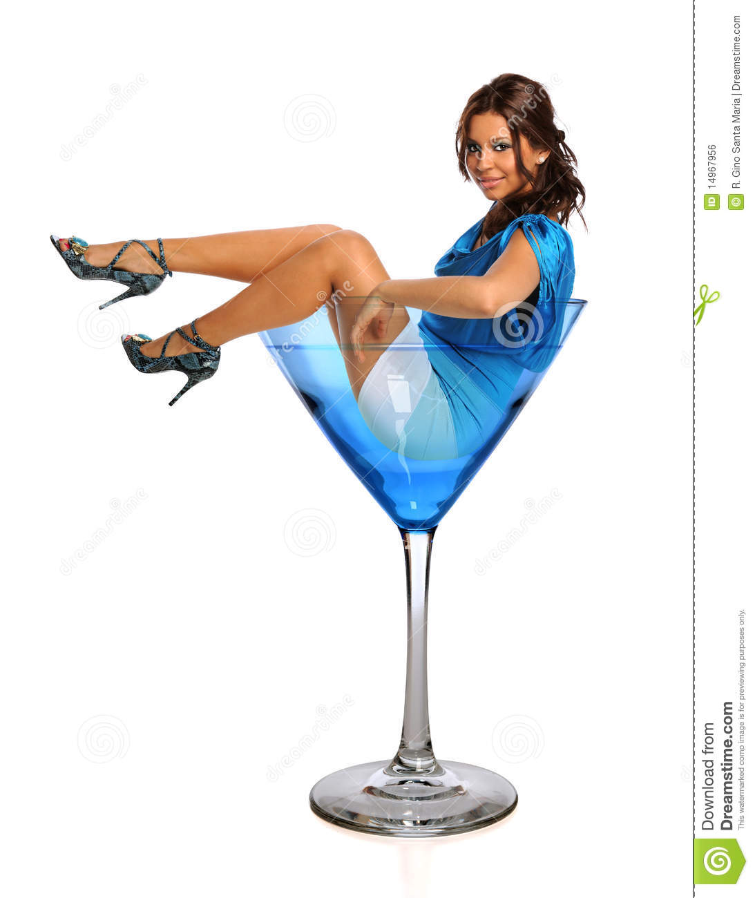 Girl Drink From Glass