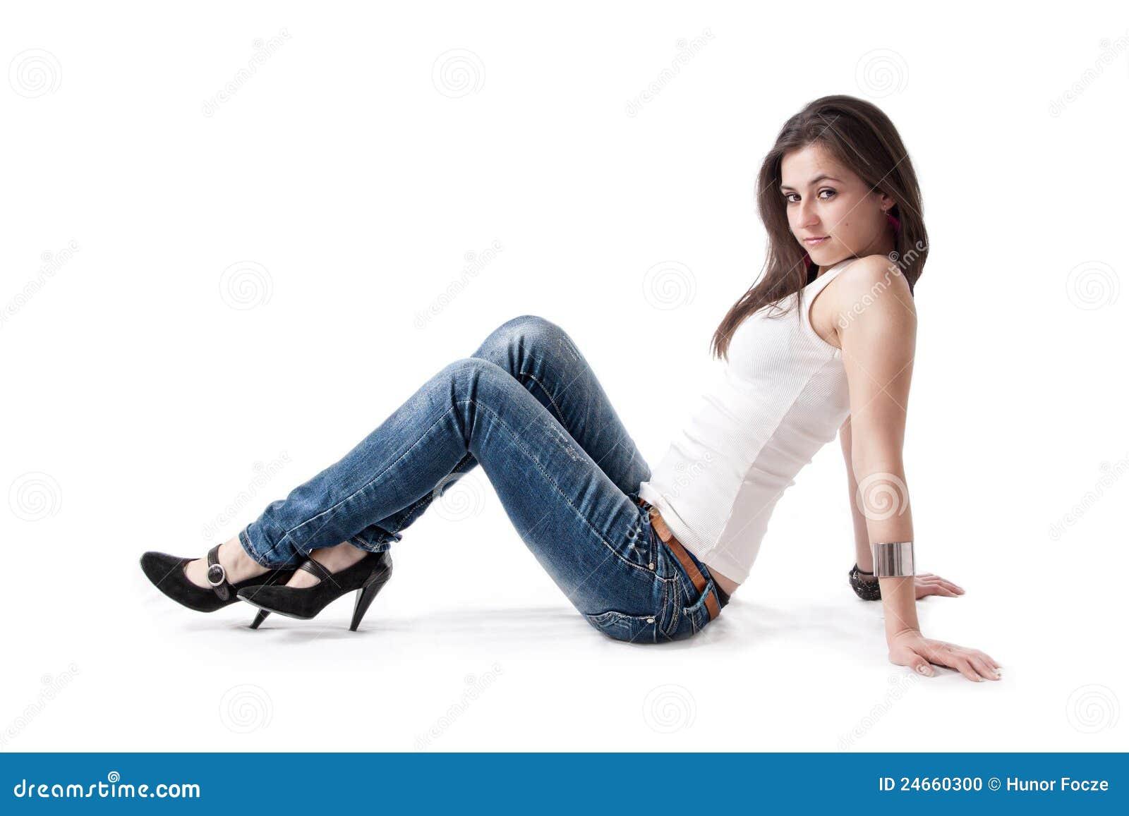 Смотреть онлайн жену в джинсах 18 фотография