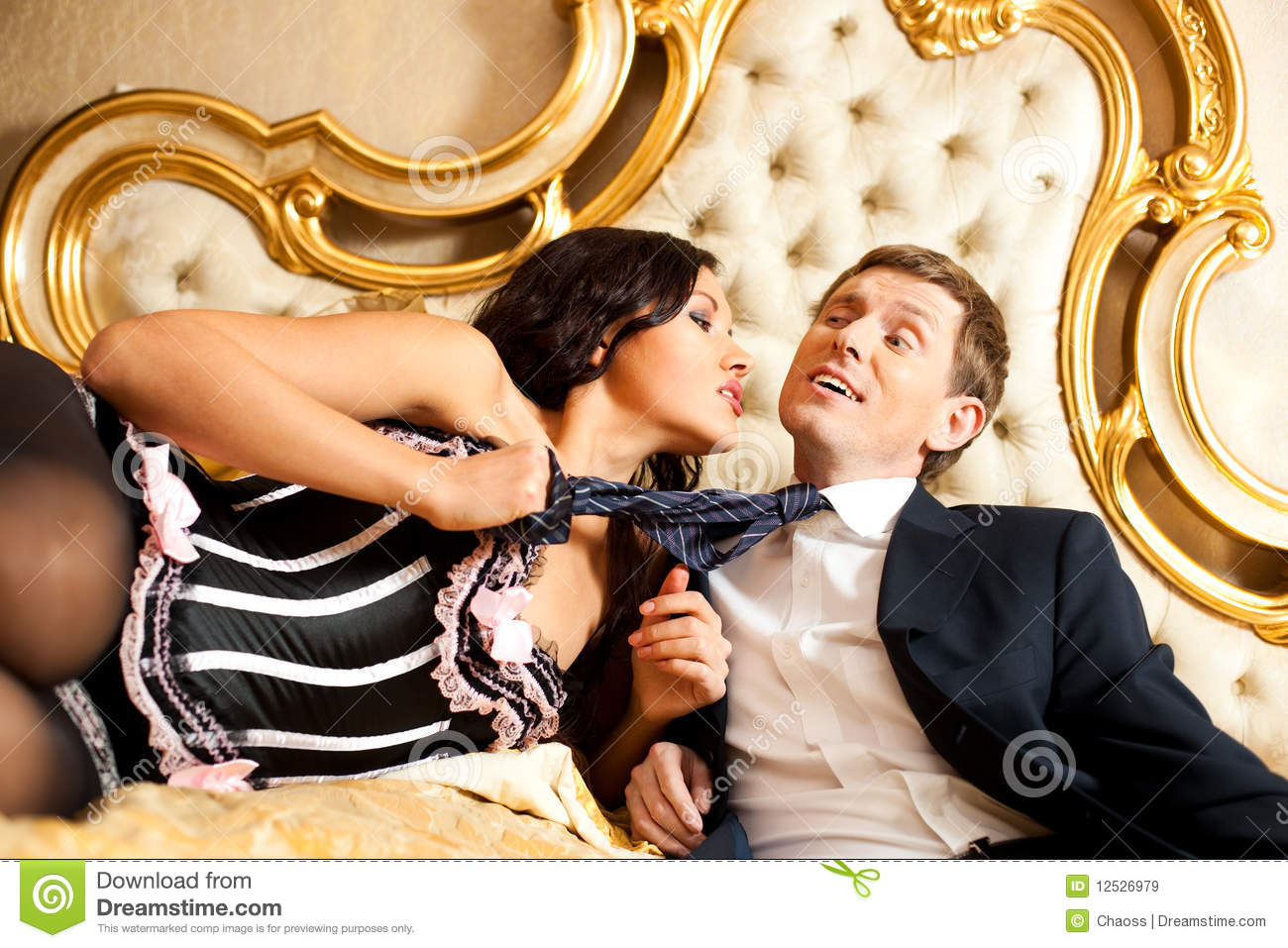 Image result for man and woman in bed