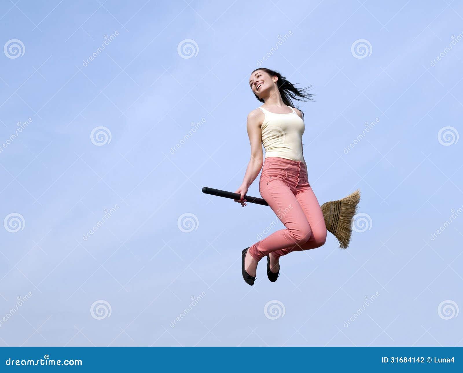 Beautiful young girl riding her vibrator