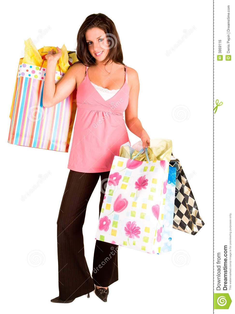 the shopping spree Goin to a mall and blowin all ur money on everythin u can get ur hands on especially the essentials like clothes, jewelry, and makeup.