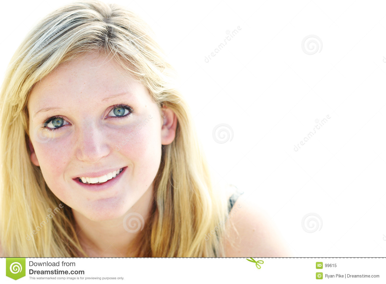 Young Woman Smiling Ro...
