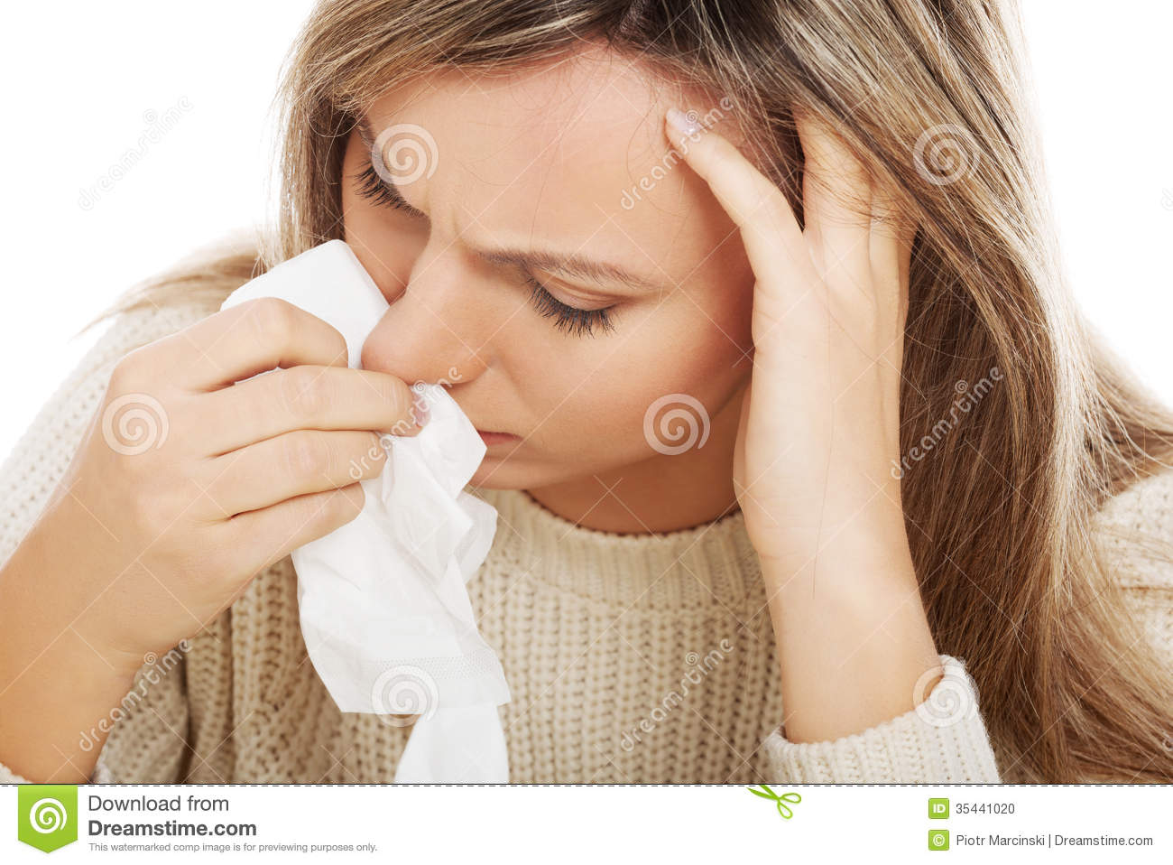 how to stop having a runny nose