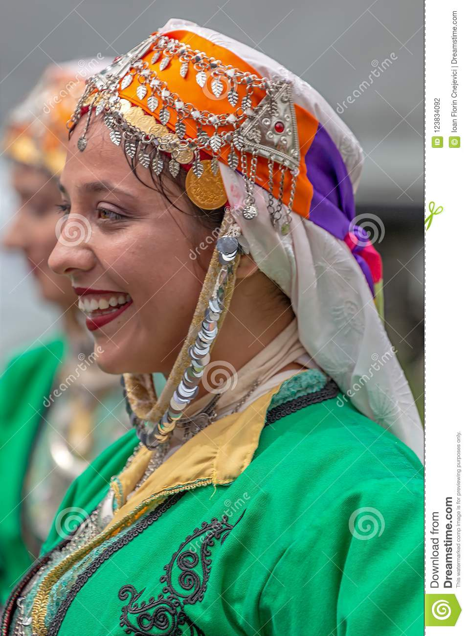 Download comp  sc 1 st  Dreamstime.com & Young Woman From Turkey In Traditional Costume Editorial Photography ...
