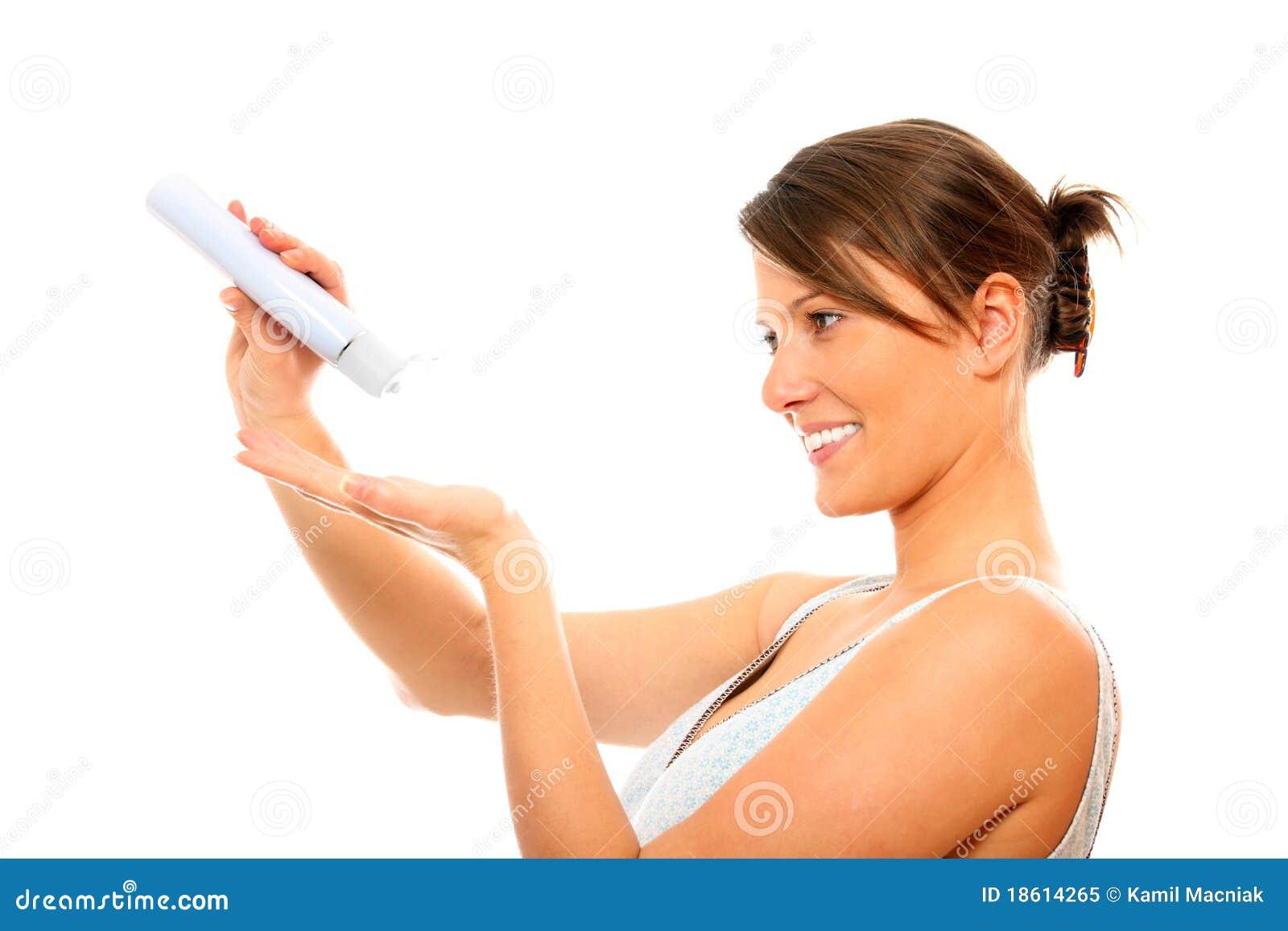 A woman using an automatic fucking machine 9