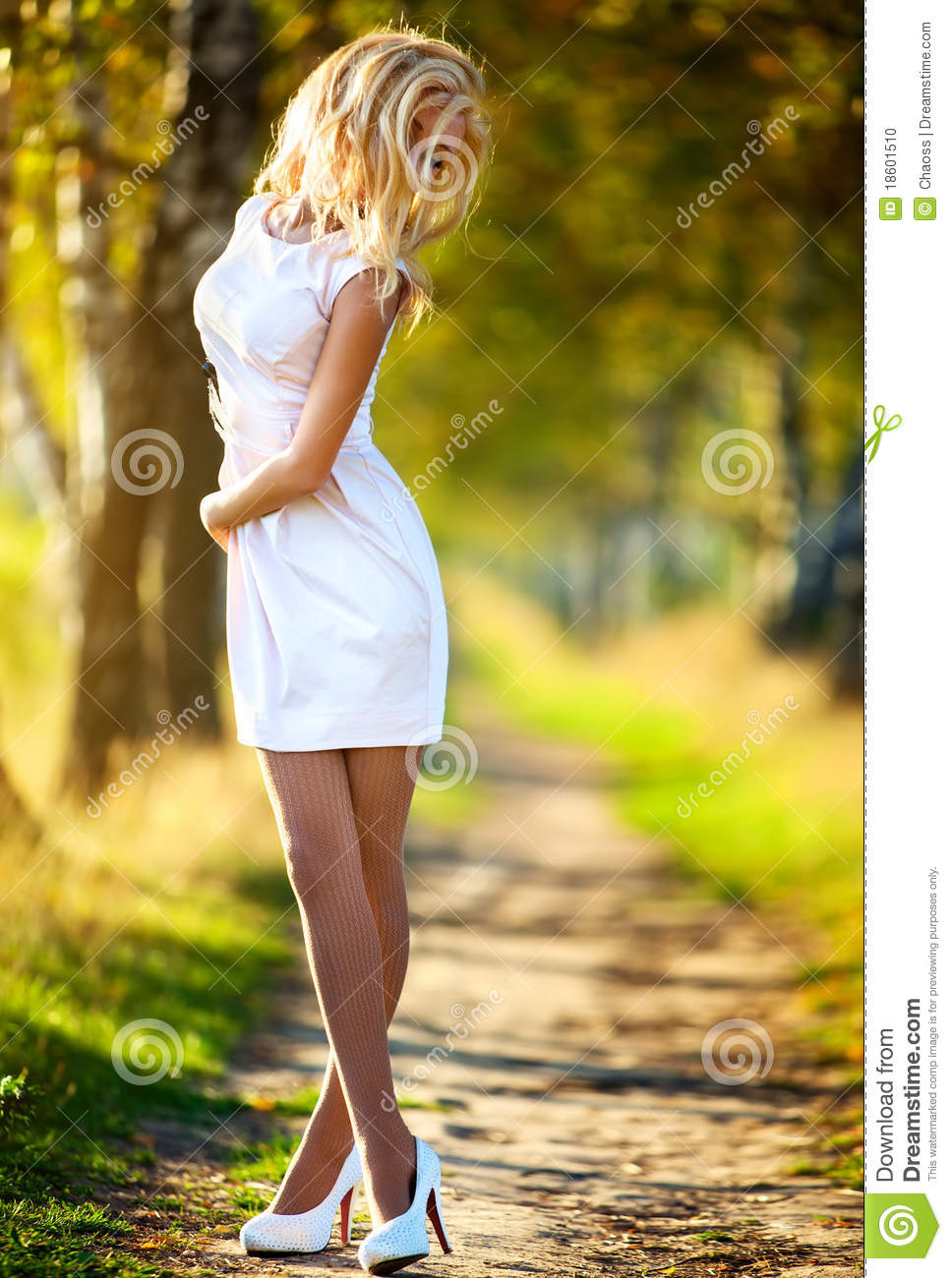 Young woman walking stock photo. Image of vibrant, walk ...
