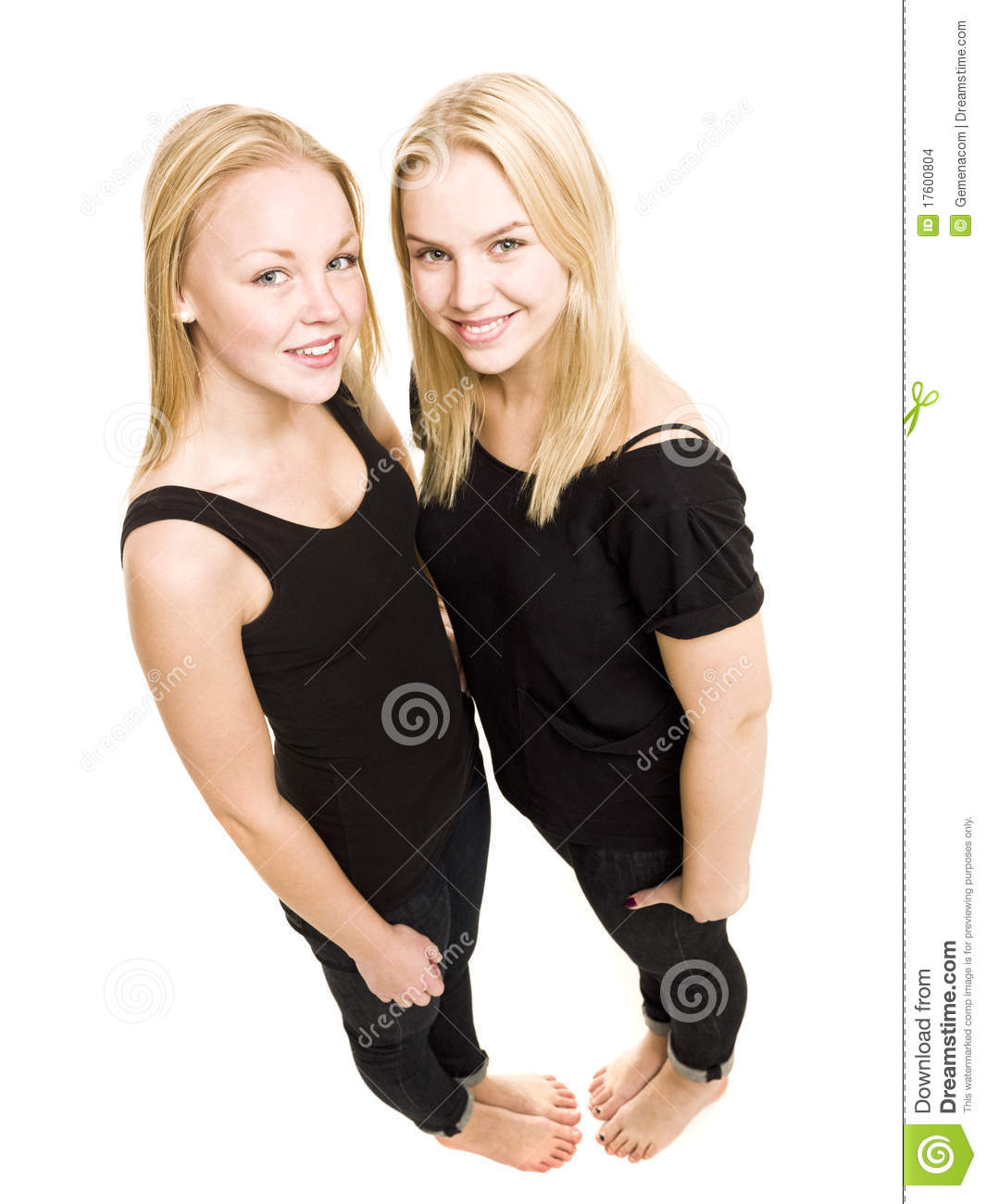 Young Women from above