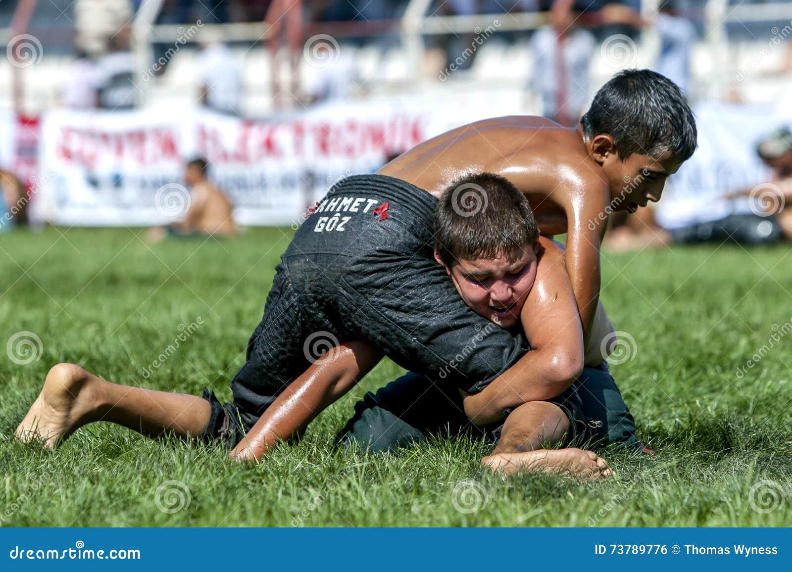 forced wrestling