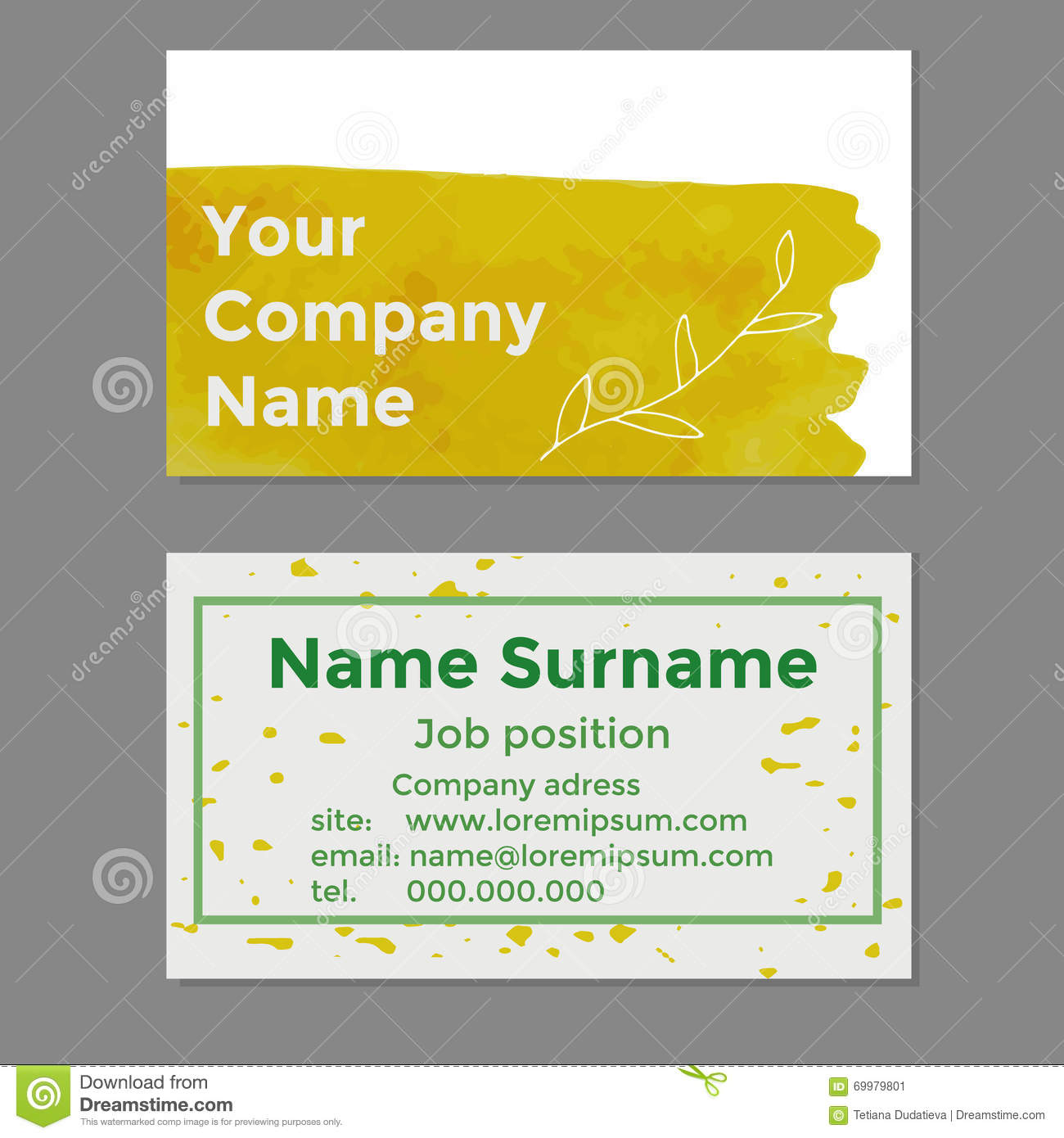 Your company name business cards stock vector illustration of download comp reheart Image collections
