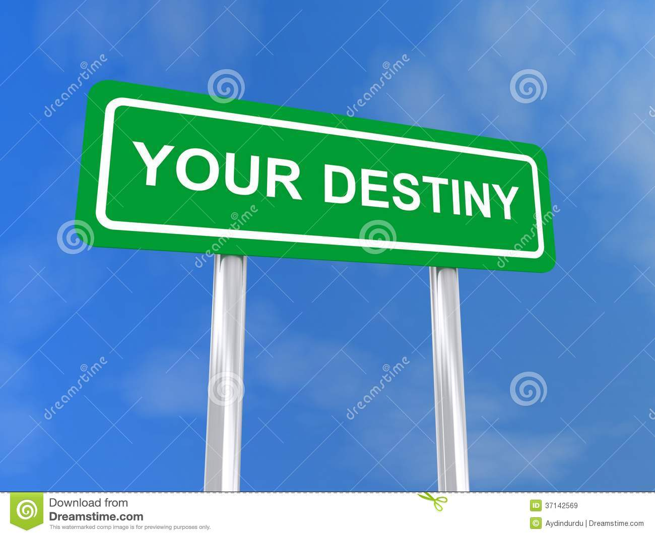 Your destiny sign royalty free stock images image 37142569 for The apartment design your destiny episode 1