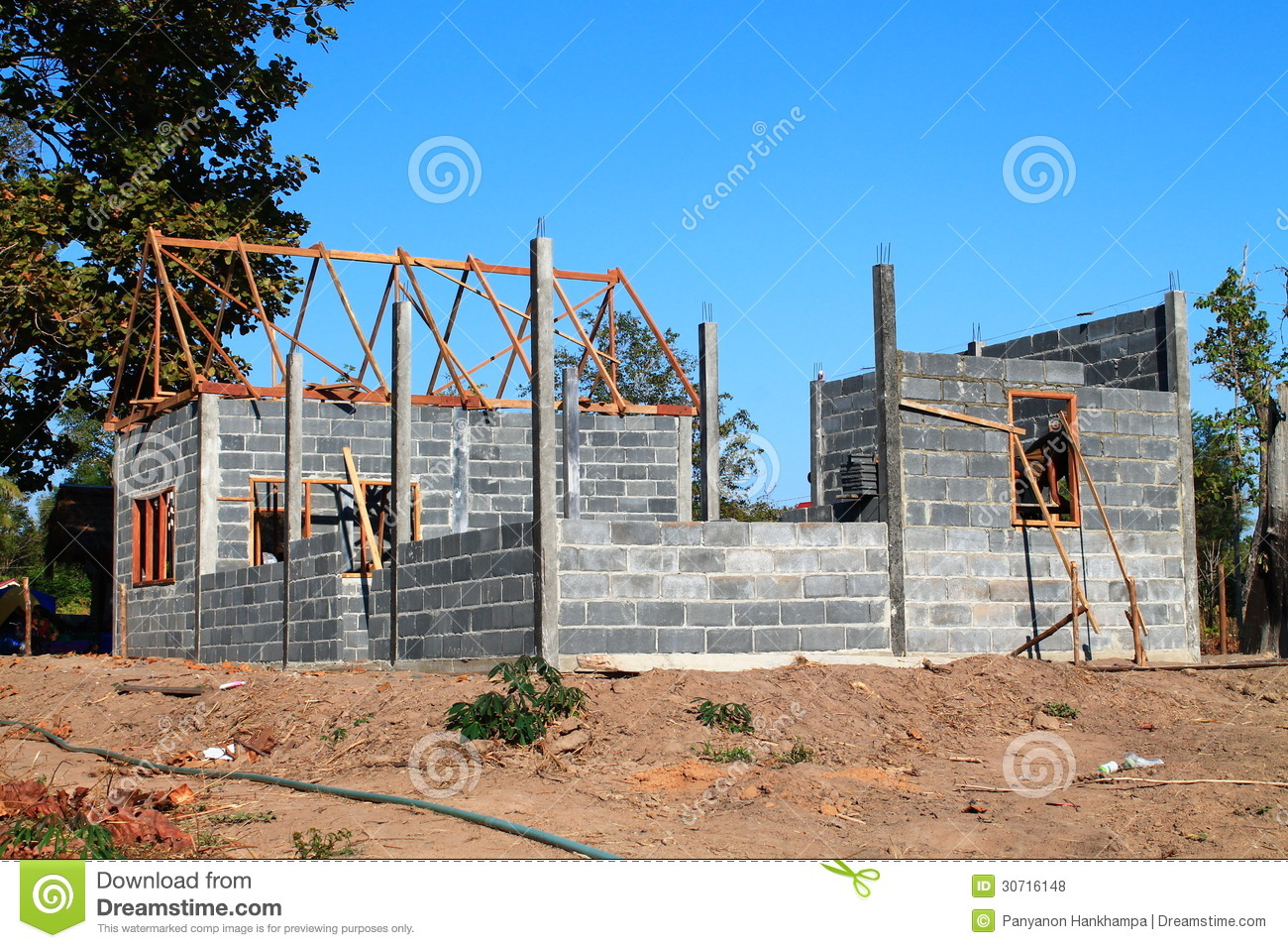 Your Dream Home New Residential Construction House
