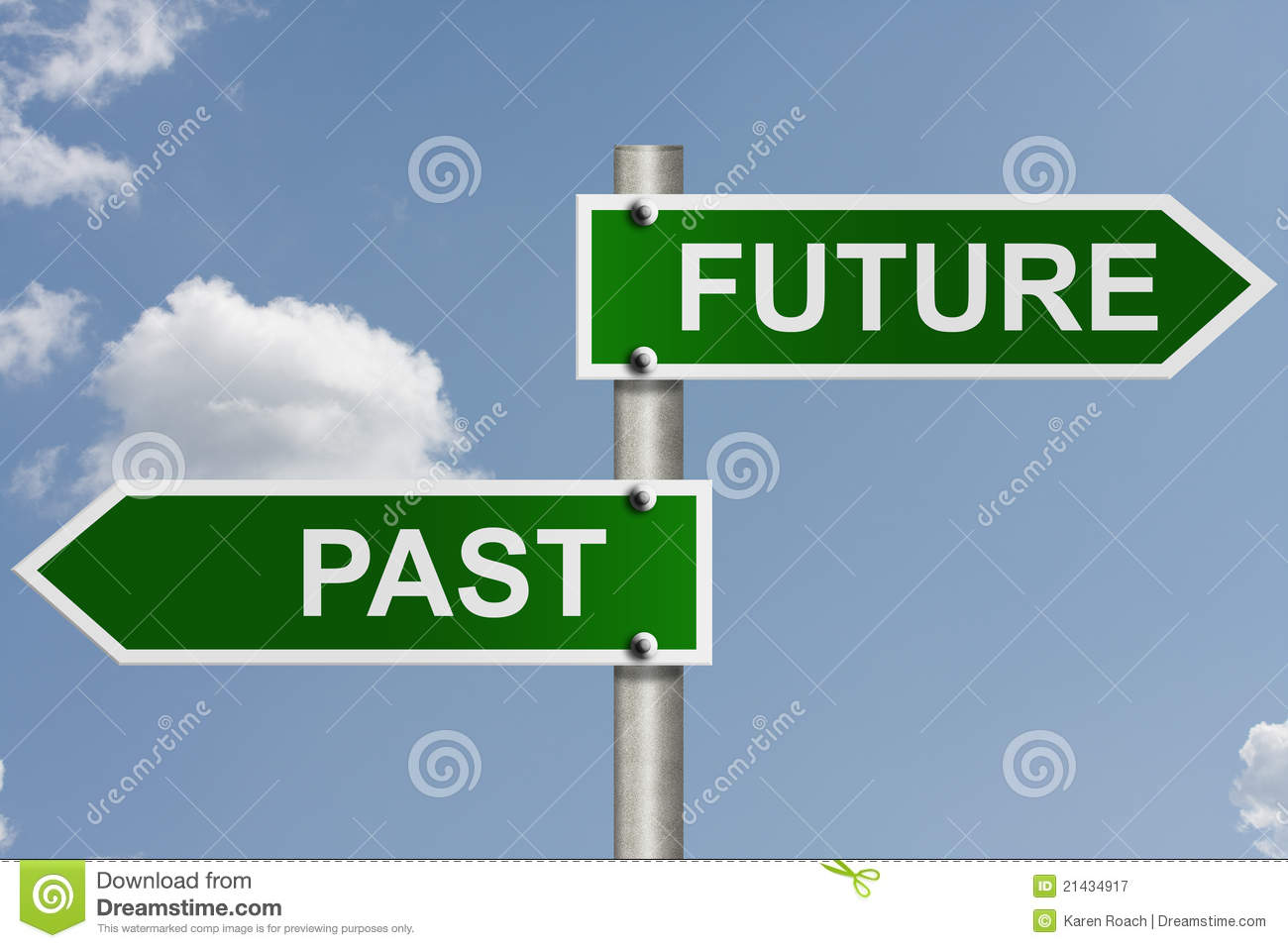 Your future and past