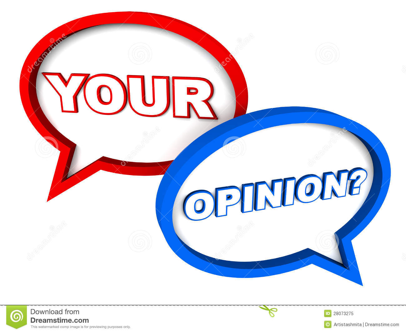your opinion stock illustration illustration of asking 28073275