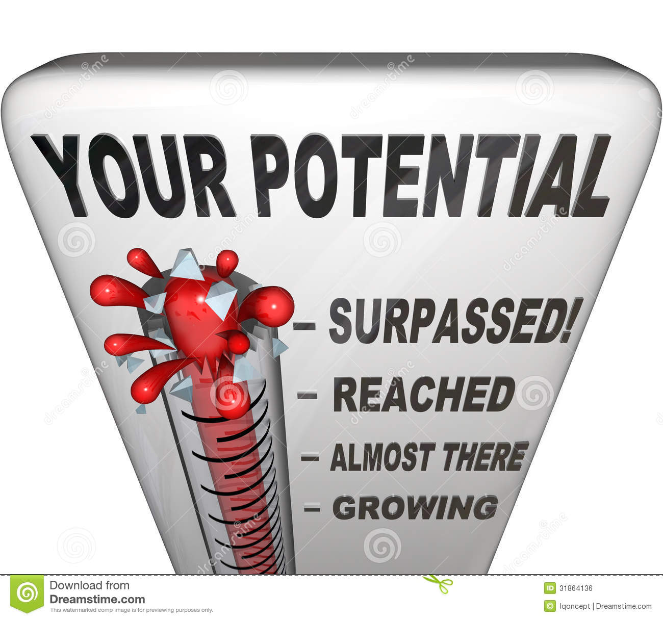 To Maximise The Potential Of: Your Potential Measured Will You Reach Your Full Success