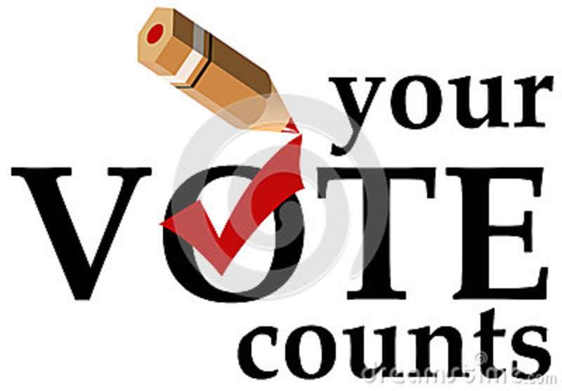 Your Vote Counts Stock Photography - Image: 34372082