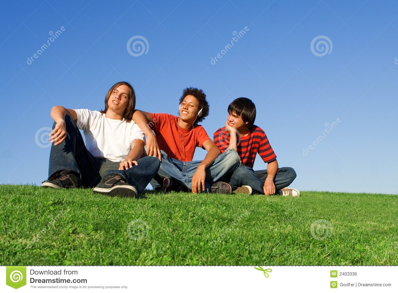 youth chilling out royalty free stock image image 2403336