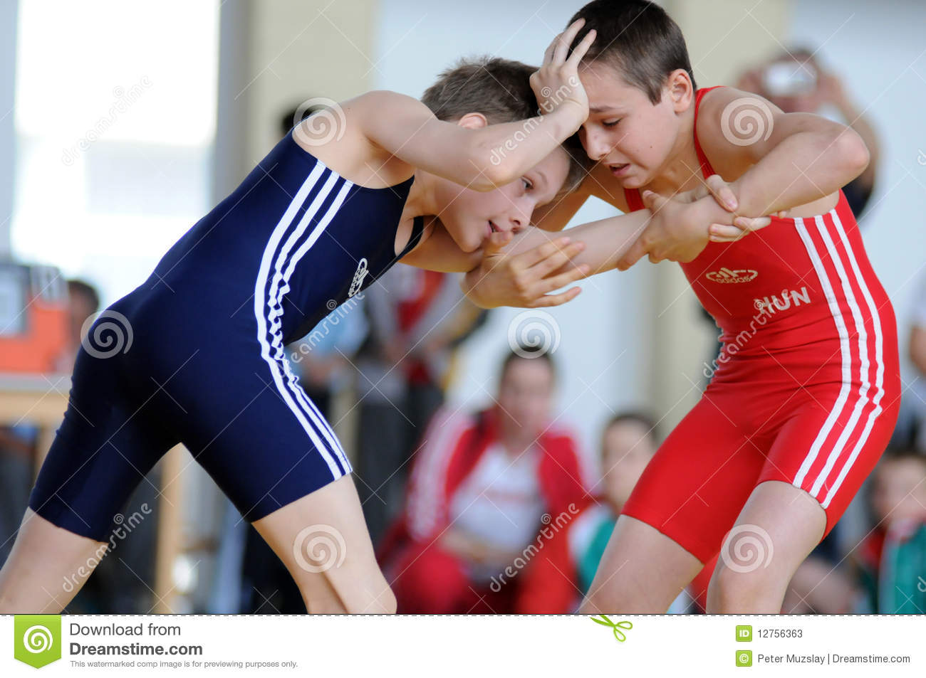 Youth Wrestling Action Editorial Stock Photo Image Of