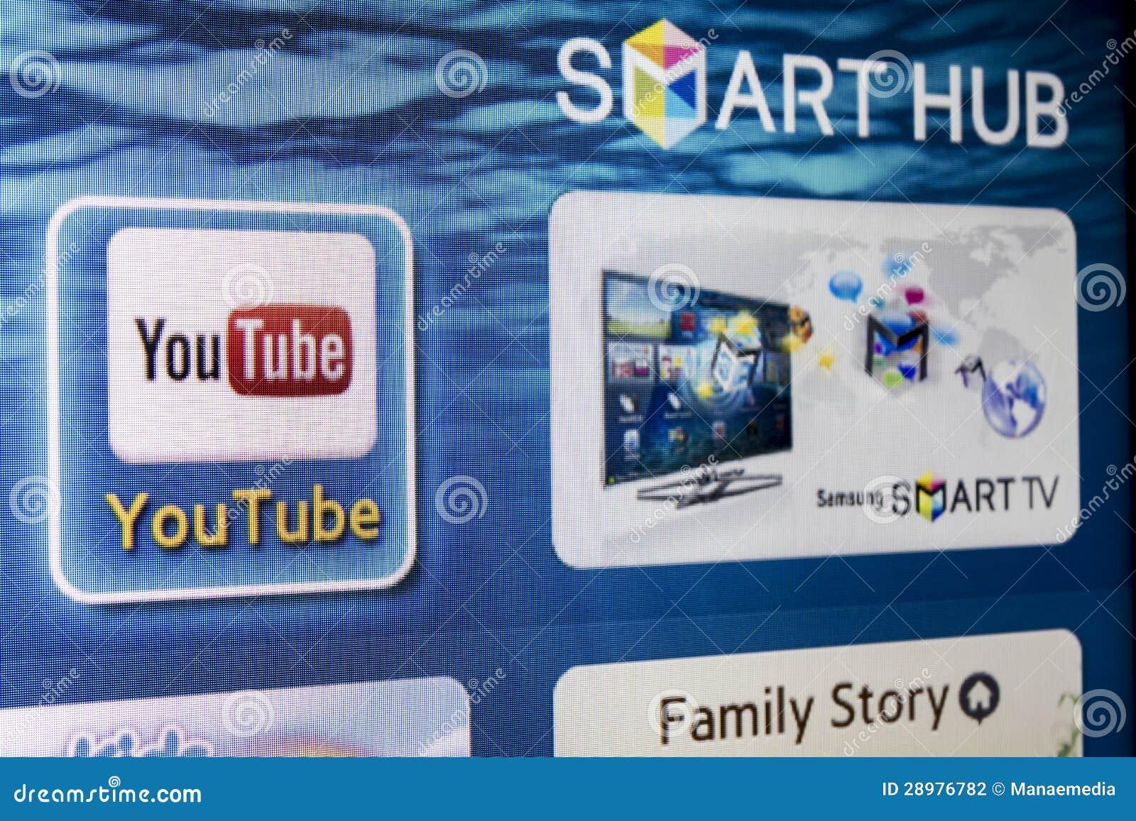 samsung smart tv youtube app herunterladen